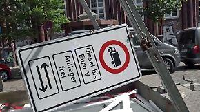 """Fahrverbote """"wenig wirksam"""": Luftverschmutzung sinkt nur minimal"""
