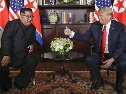 Gipfel für Ende Februar geplant: Trump und Kim vereinbaren nächstes Treffen