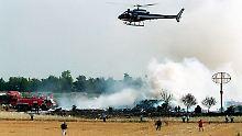 Das Flugzeug stürzte im Juli 2000 ab.