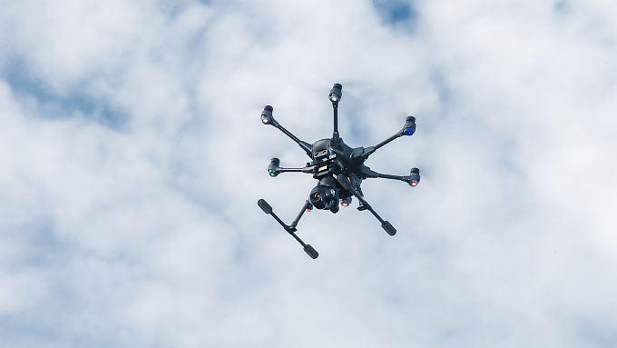 Drohne des Arbeiter-Samariter-Bundes (ASB).