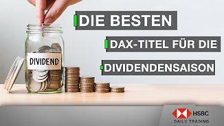 DAX im Chart-Check: Die besten DAX-Titel für die Dividendensaison