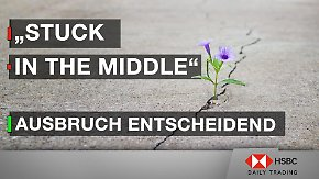 "DAX im Chart-Check: ""stuck in the middle"" – Ausbruch entscheidend"