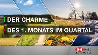 DAX im Saisonalitäten-Check: Der Charme des 1. Monats im Quartal