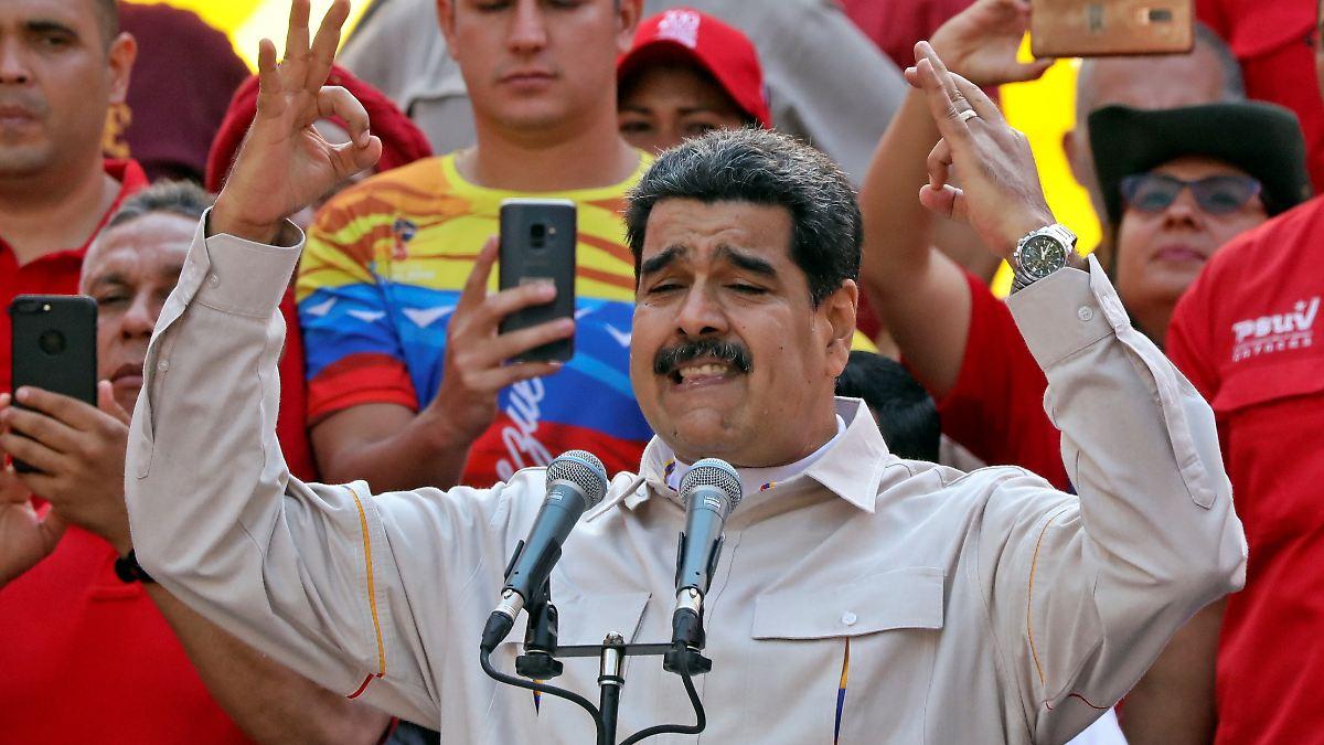 Maduro lässt internationale Hilfen zu