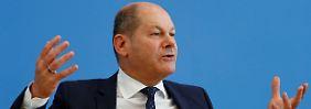 """""""Sind nicht in einem Abschwung"""": Scholz will keine Konjunkturprogramme"""