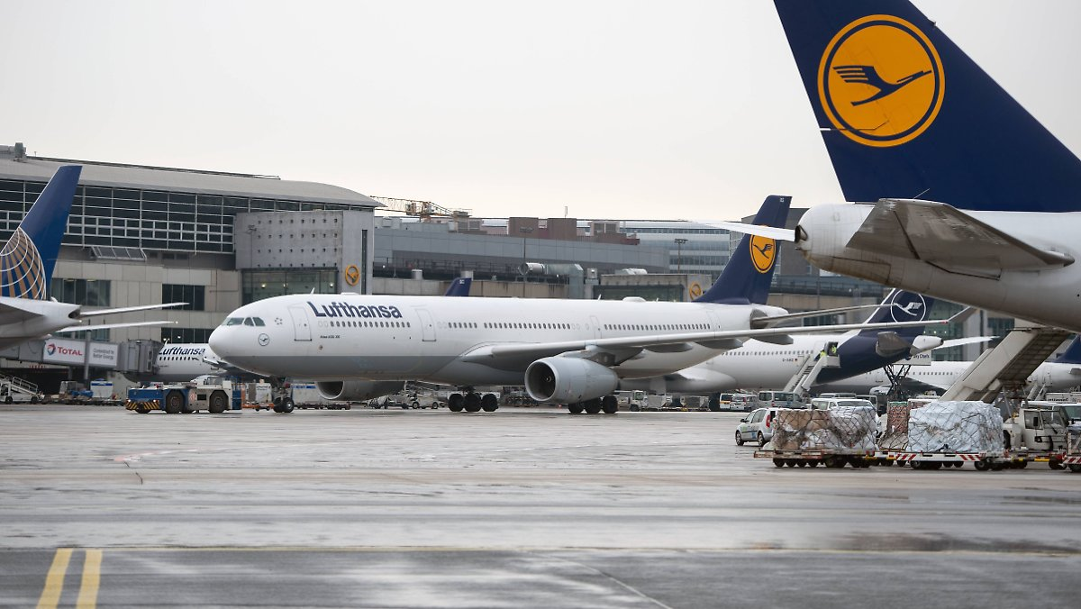 Bombendrohung gegen drei Lufthansa-Flüge
