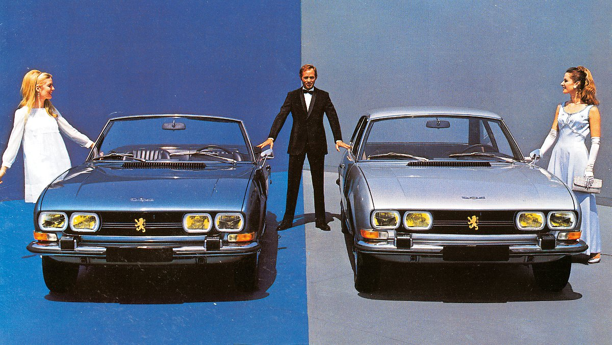 The Seductive Duo Of Pininfarina 50 Years Of Peugeot 504 Coupe And Cabriolet