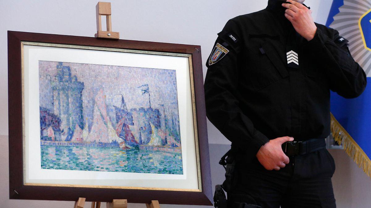 """Dieb stiehlt Millionen-Gemälde, """"weil es so leicht war"""""""