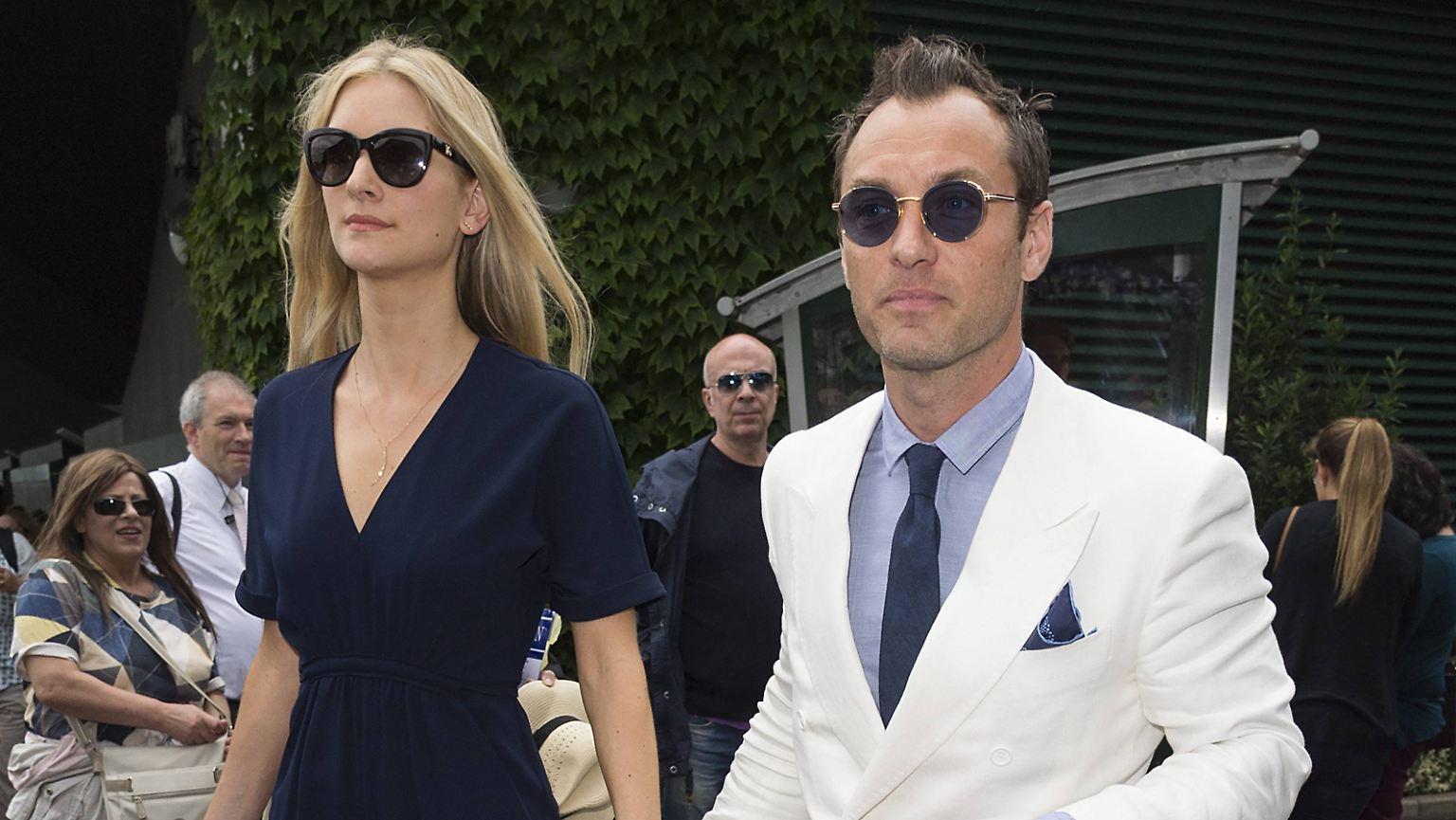 Hochzeit In London Jude Law Sagt Heimlich Ja N Tv De