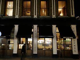 Die Fassade des Frontline Clubs in London.