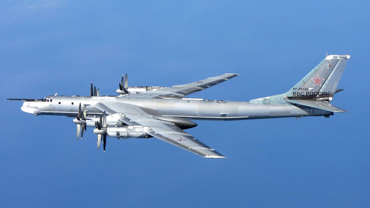 Russische Militärflugzeuge vor USA abgefangen