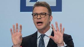 """""""Aktienkurs ist grottenschlecht"""": Deutsche Bank schlingert durch schwierige Anlegerversammlung"""