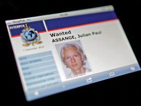 Assange hatte sich in London der Polizei gestellt.