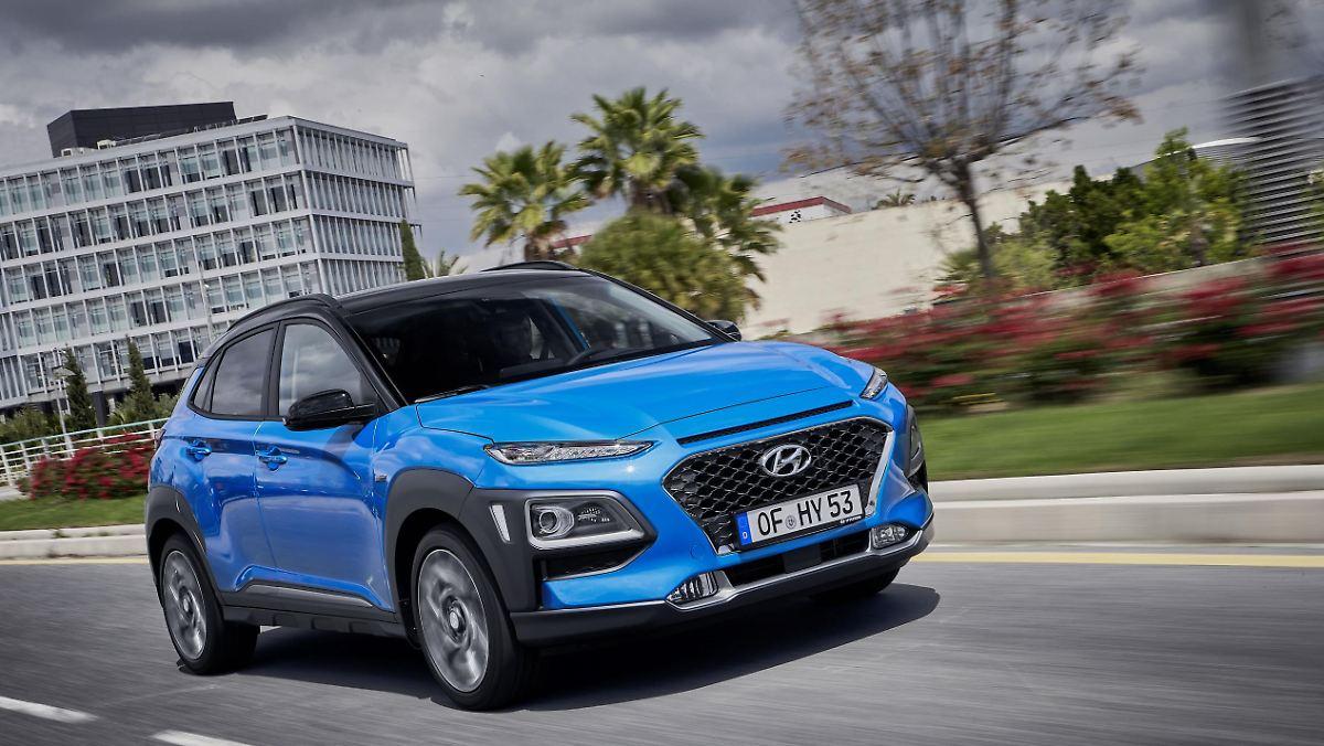 Hyundai Kona jetzt auch als Hybrid