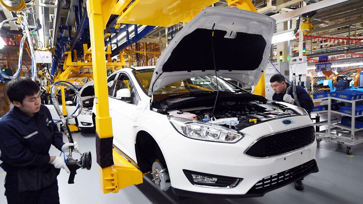 China verhängt Millionenstrafe gegen Ford