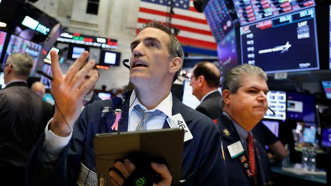 Der Blick der US-Anleger geht Richtung Fed, die den Zinssatz senken könnte.