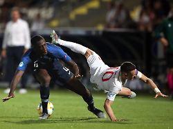 Kurioser Auftakt der U21-EM: Frankreich hat erst Pech, dann Glück