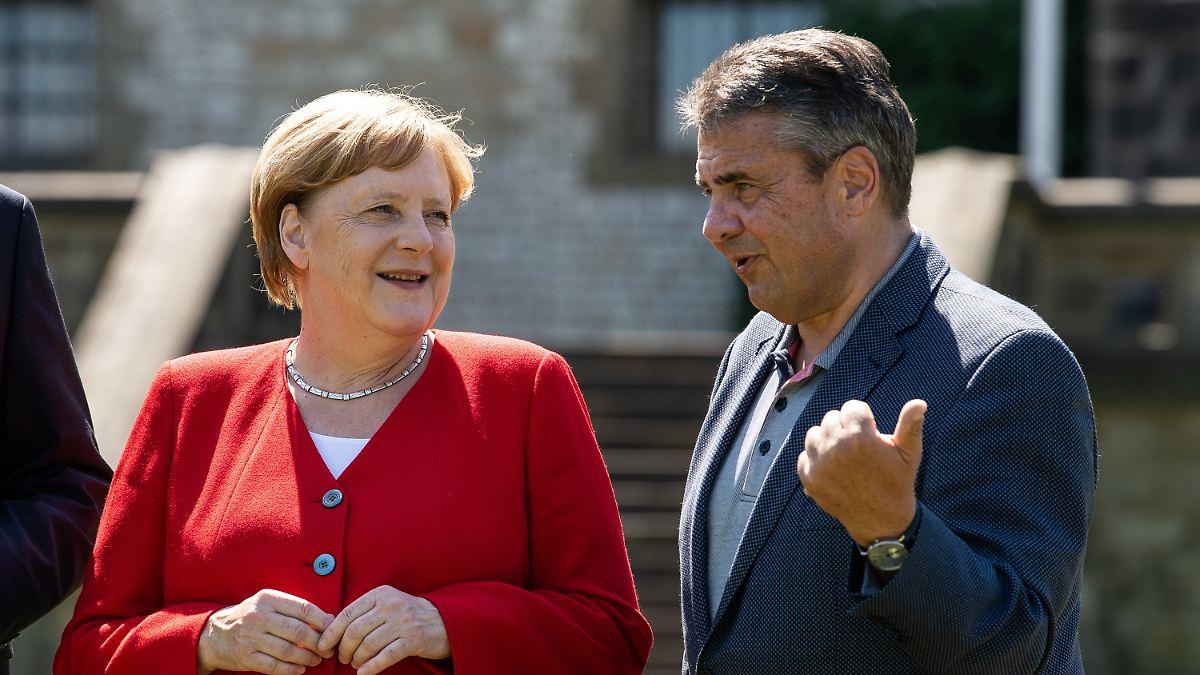 Gabriel will Merkel in EU-Top-Amt sehen