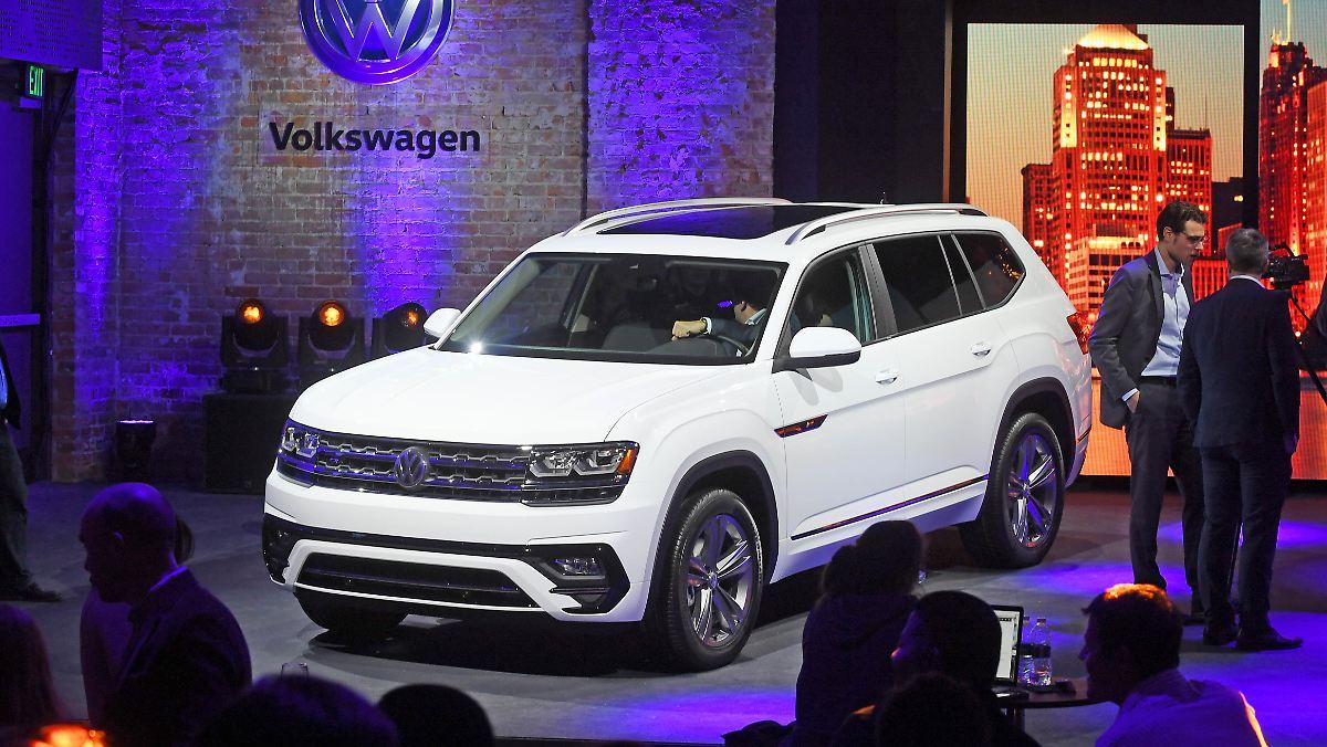 VW trotzt US-Marktschwäche