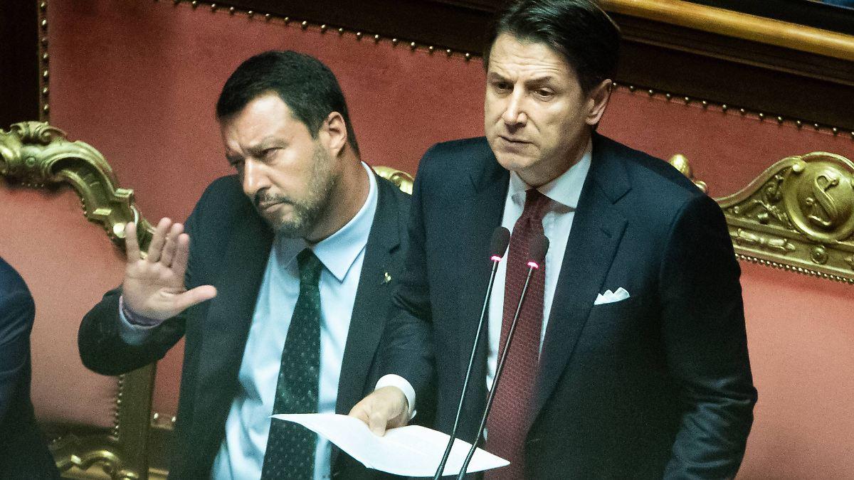 Salvini macht die ersten Fehler
