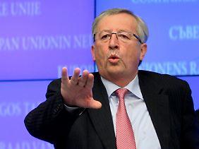 Jean-Claude Juncker sieht sich einer mächtigen Allianz gegenüber.