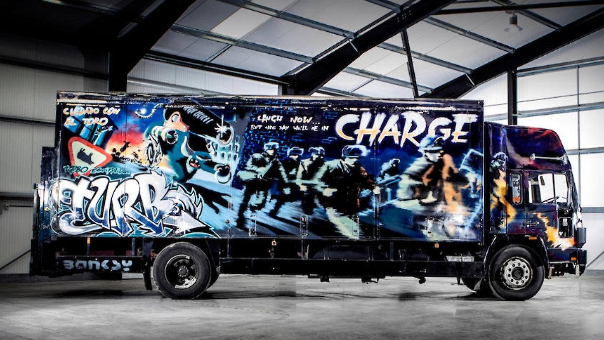 Banksy-Truck wird versteigert