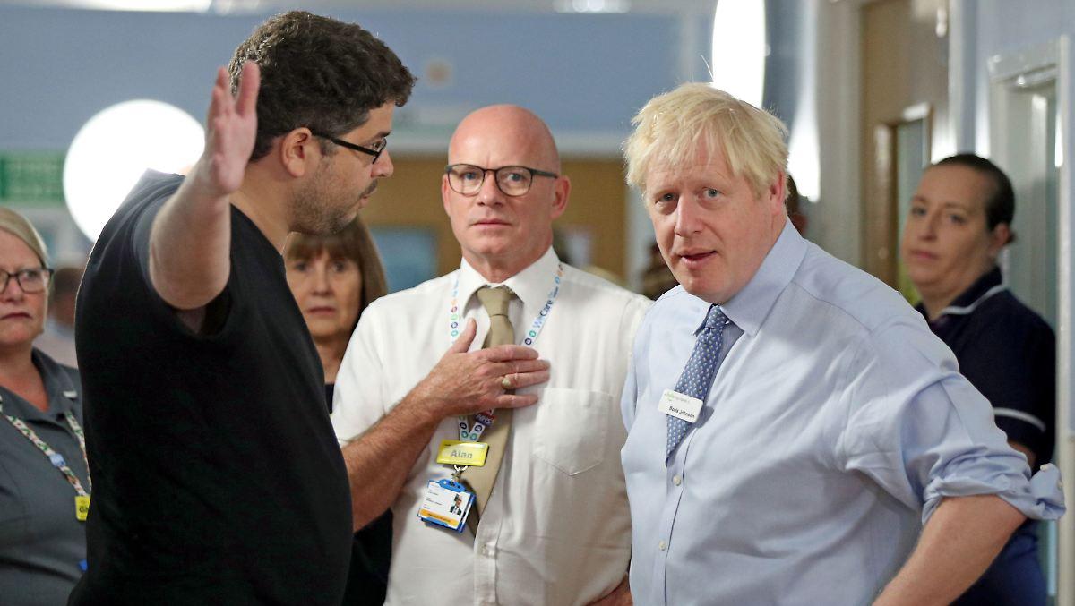 Krankenhausbesuch endet für Johnson übel