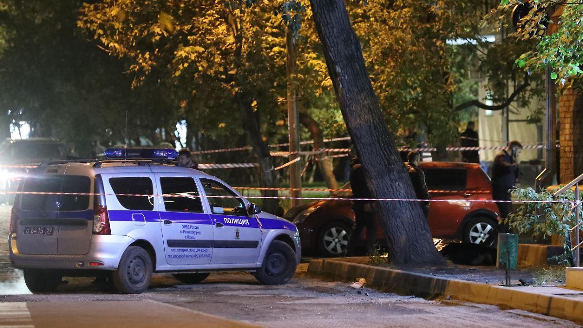 Polizist in Moskau schiesst auf Kollegen