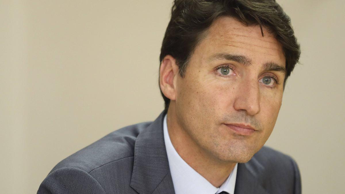 Trudeau entschuldigt sich für altes Foto
