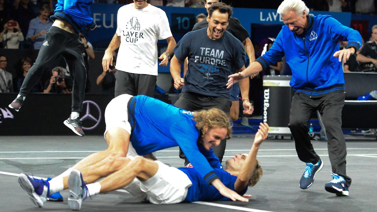 Zverev führt Team Europa zum Sieg