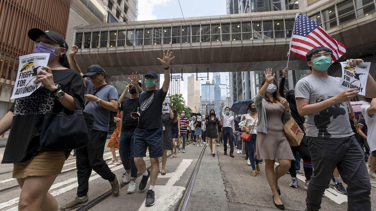 Hongkong legt gesamtes U-Bahn-Netz still