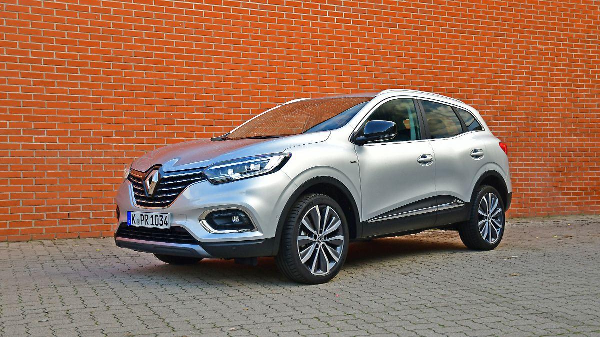 Renault Kadjar - das Paket ist nicht ganz rund