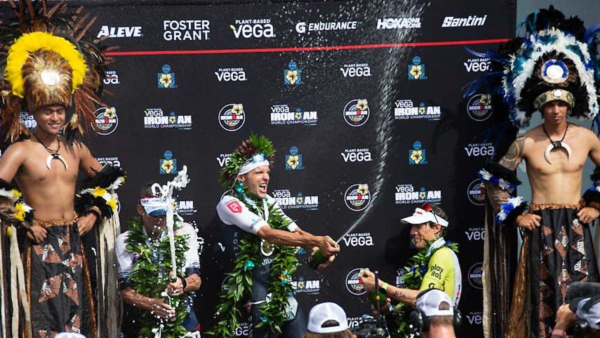 Deutsches Duo dominiert Ironman historisch