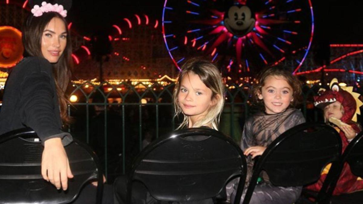 Megan Fox teilt seltene Fotos ihrer Kinder