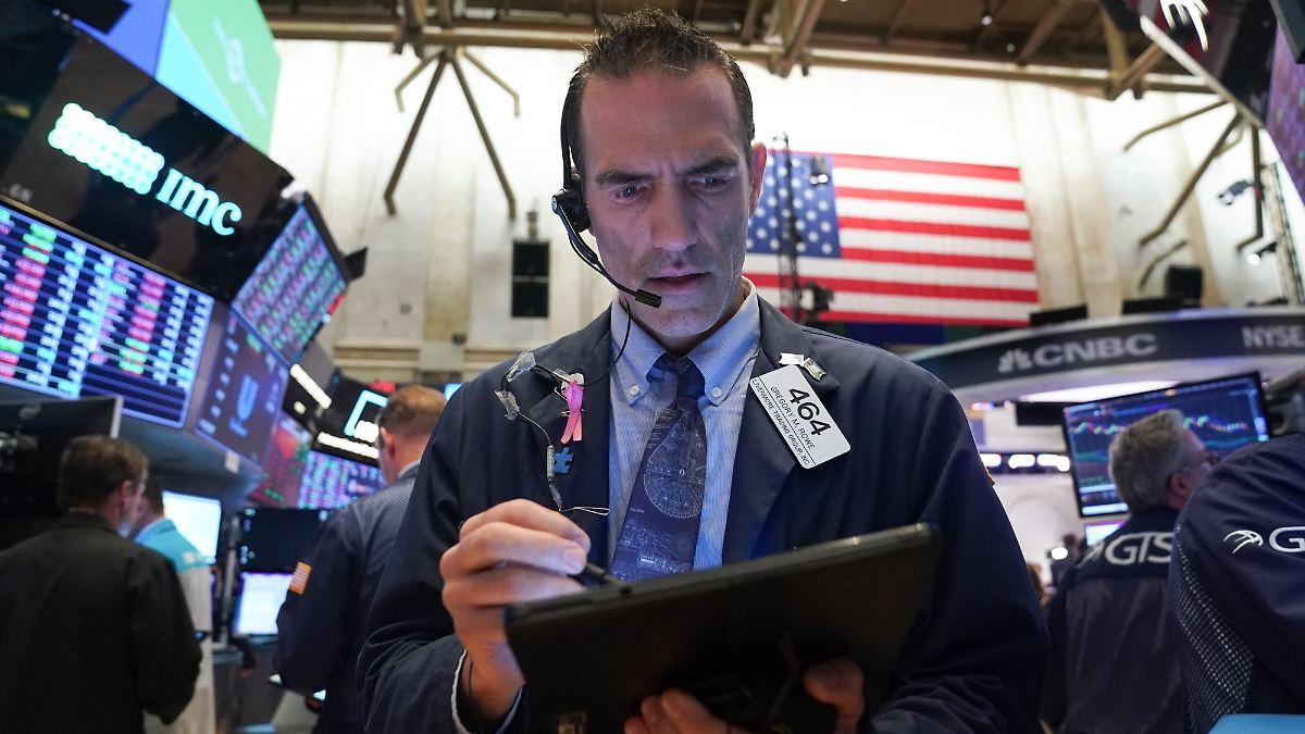 China-Streit dämpft Stimmung an Wall Street
