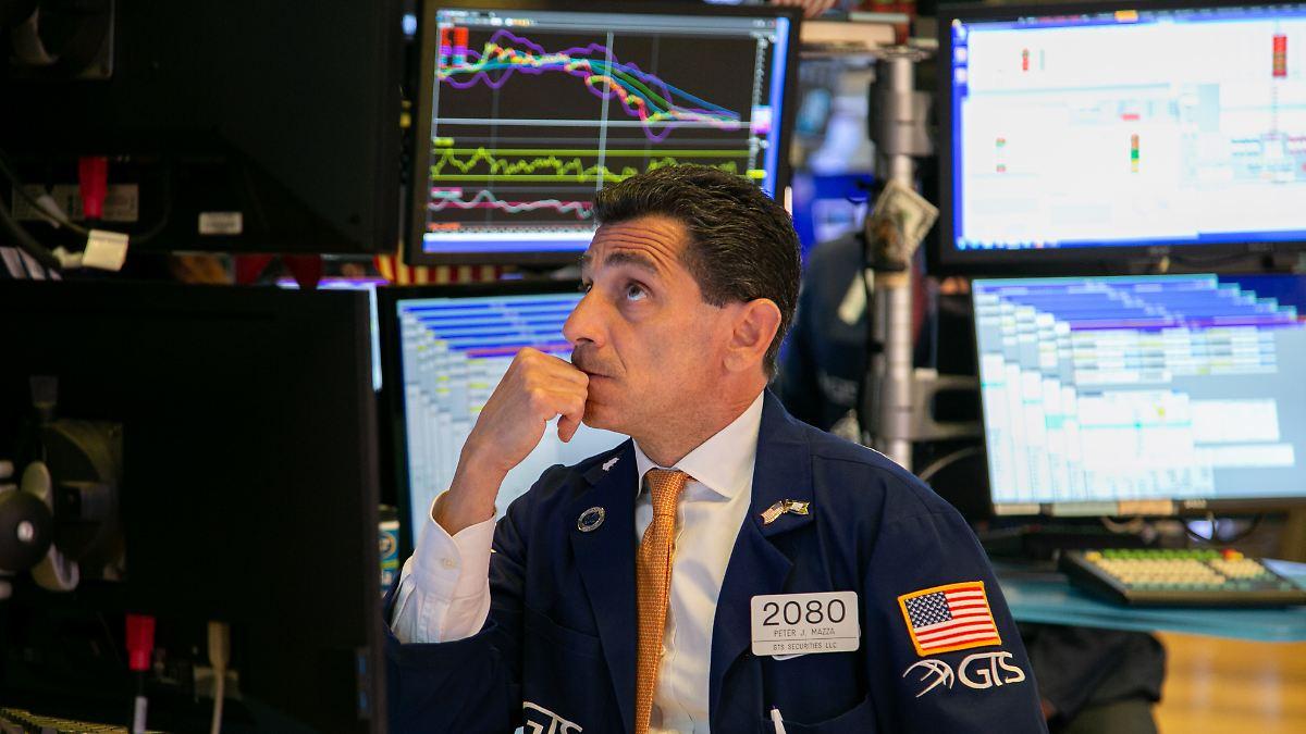 Maue China-Daten bremsen Wall Street aus