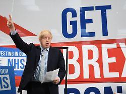 Bestach Johnson Brexit-Partei?: Britische Polizei prüft Korruptionsvorwürfe