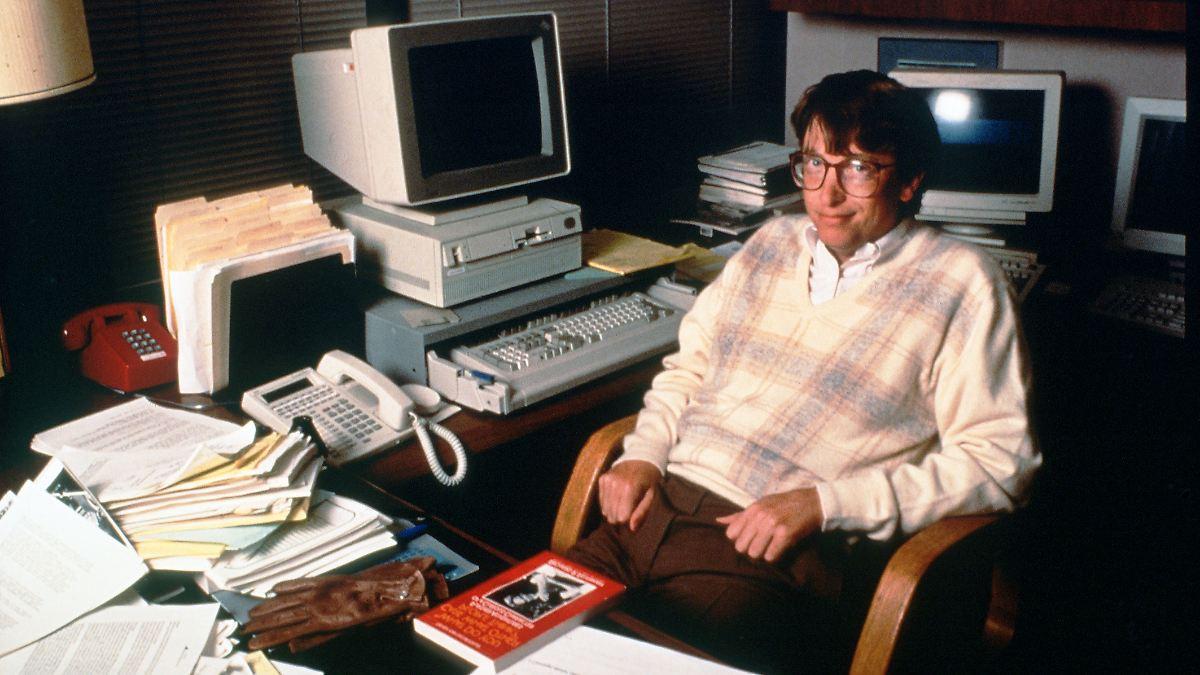 Als Gates das erste Windows veröffentlichte