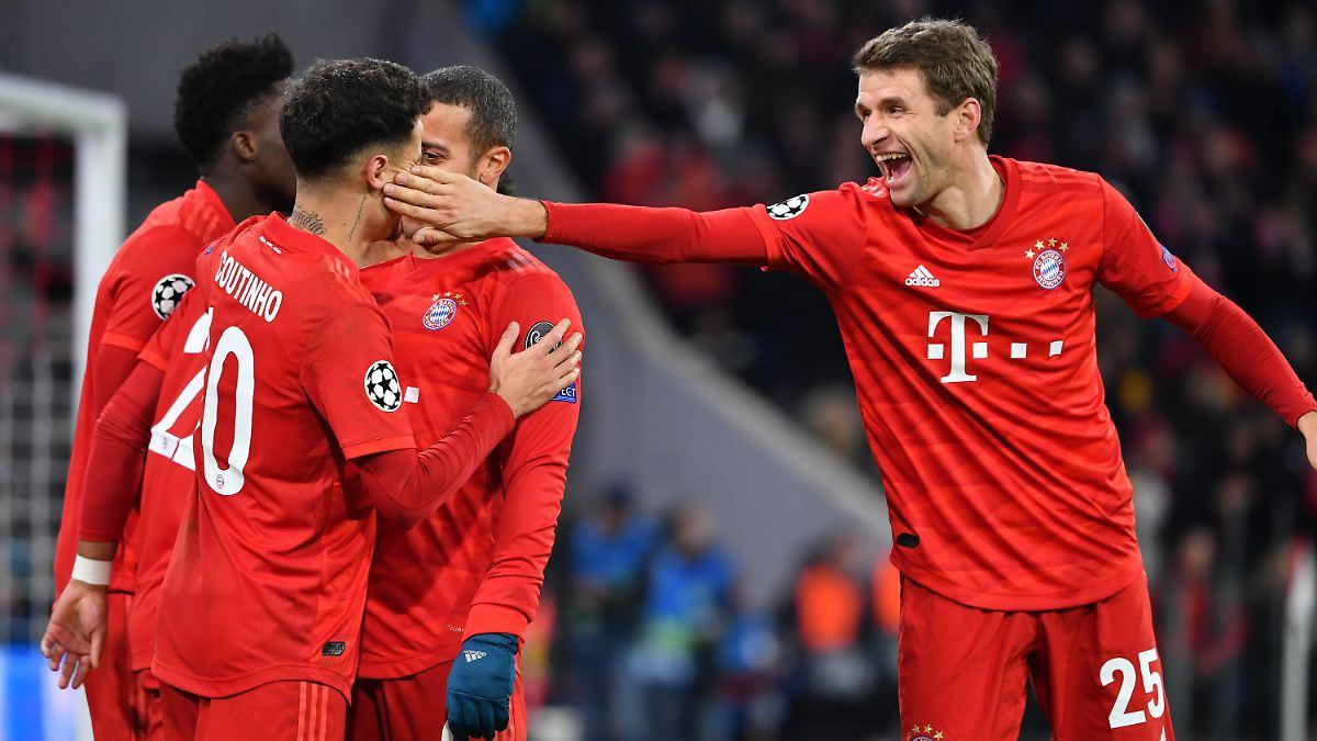 FC Bayern gelingt historischer Sieg