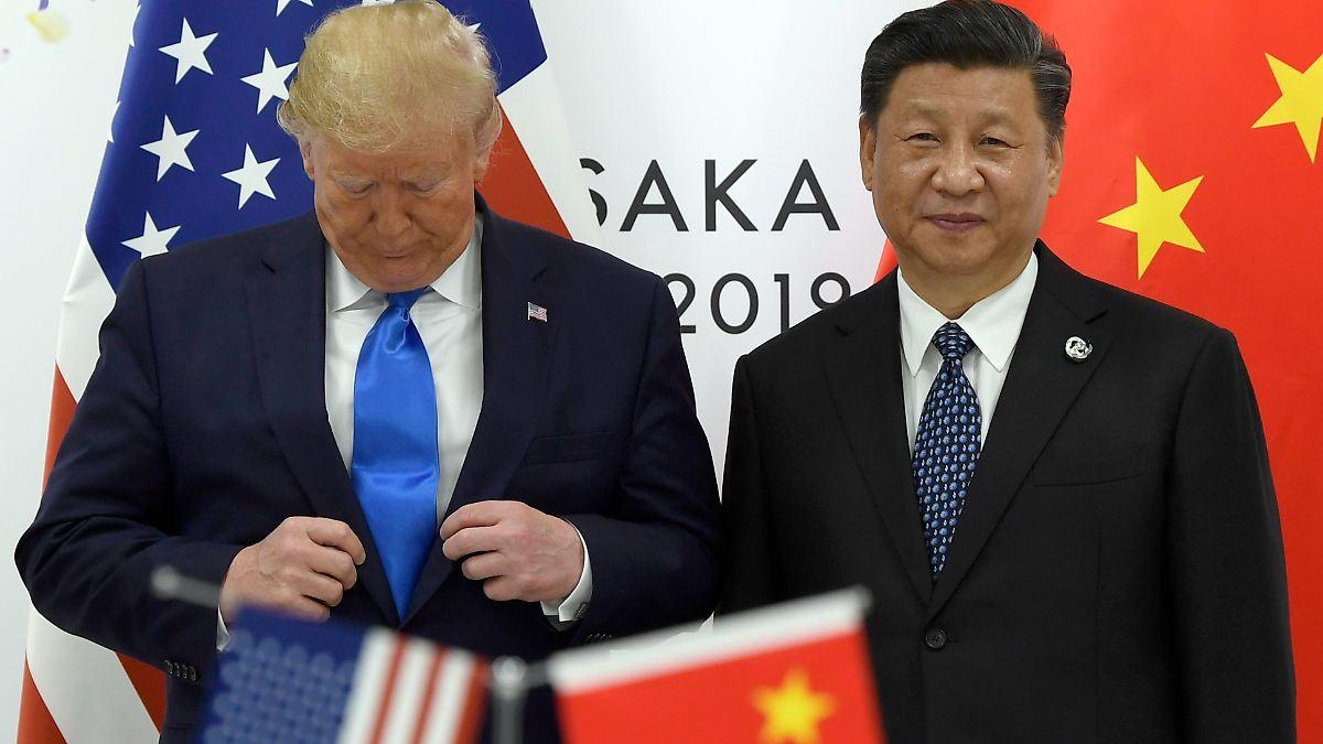 China und USA verkünden Teileinigung im Handelsstreit