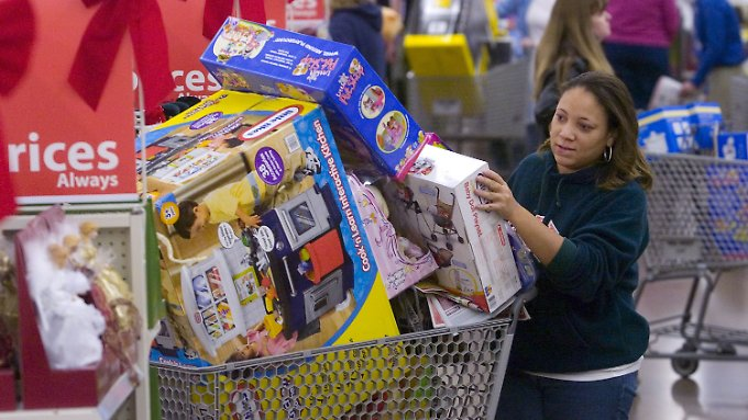 Die Amerikaner schlagen einkaufsmäßig wieder zu.
