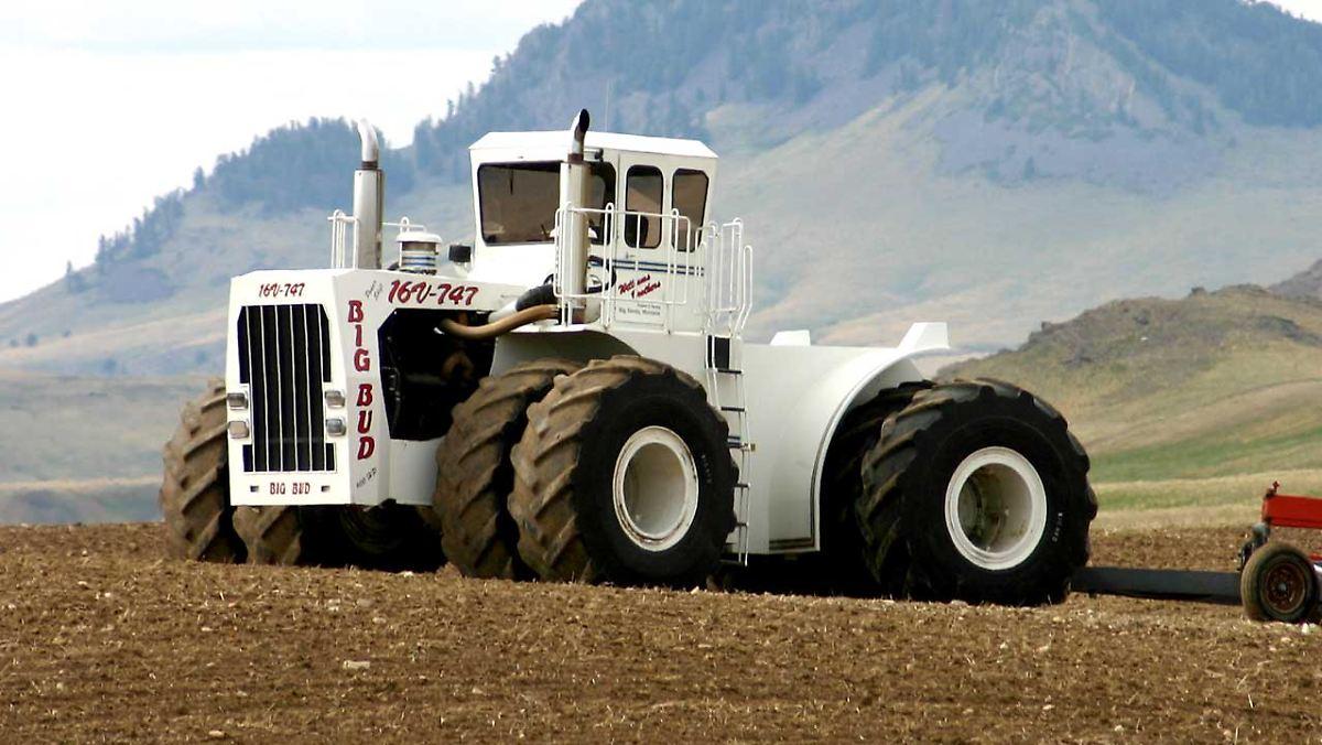 Die stärksten Traktoren der Welt