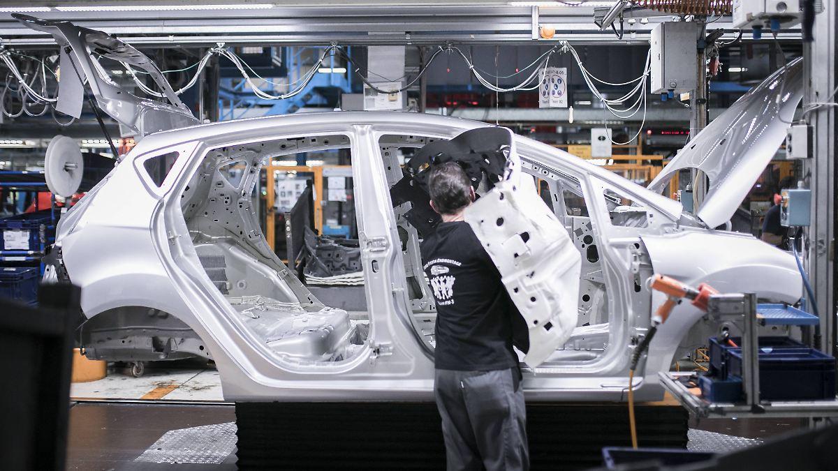 Deutschlands Industrie stabilisiert sich