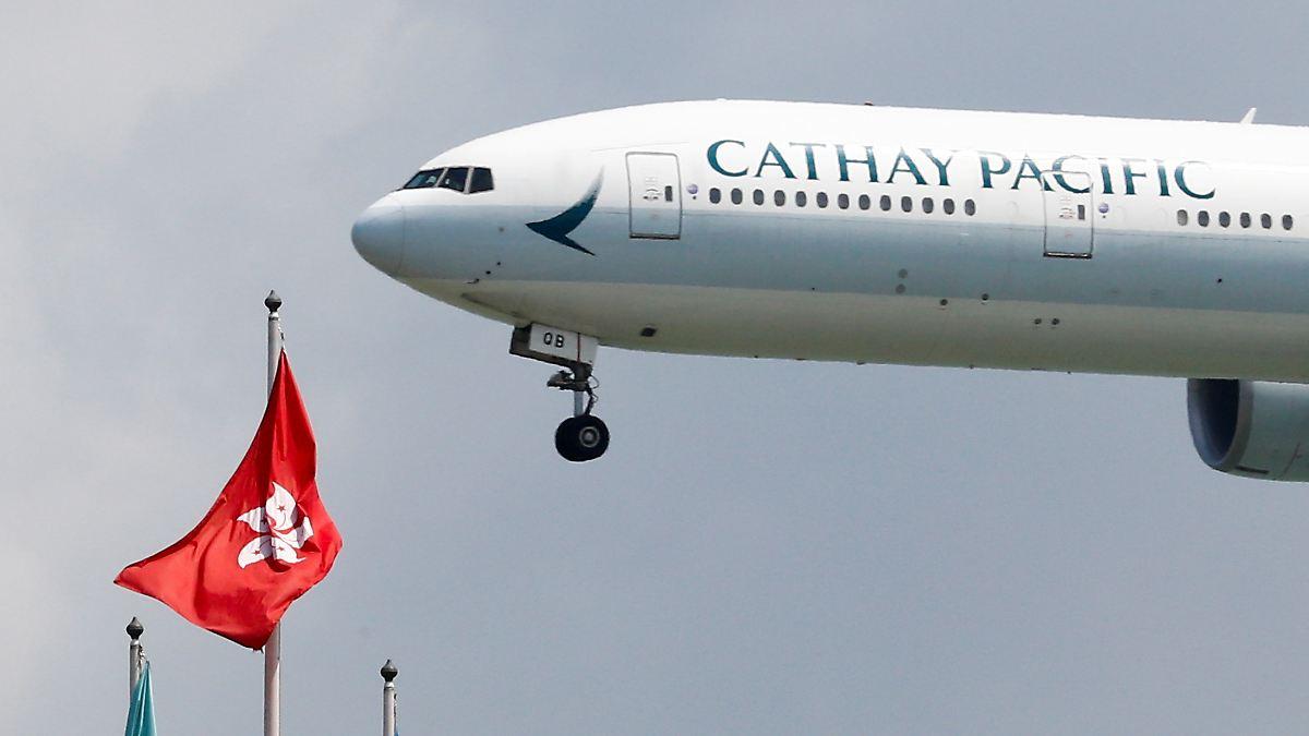 Cathay Pacific legt Virus-Zwangspause ein
