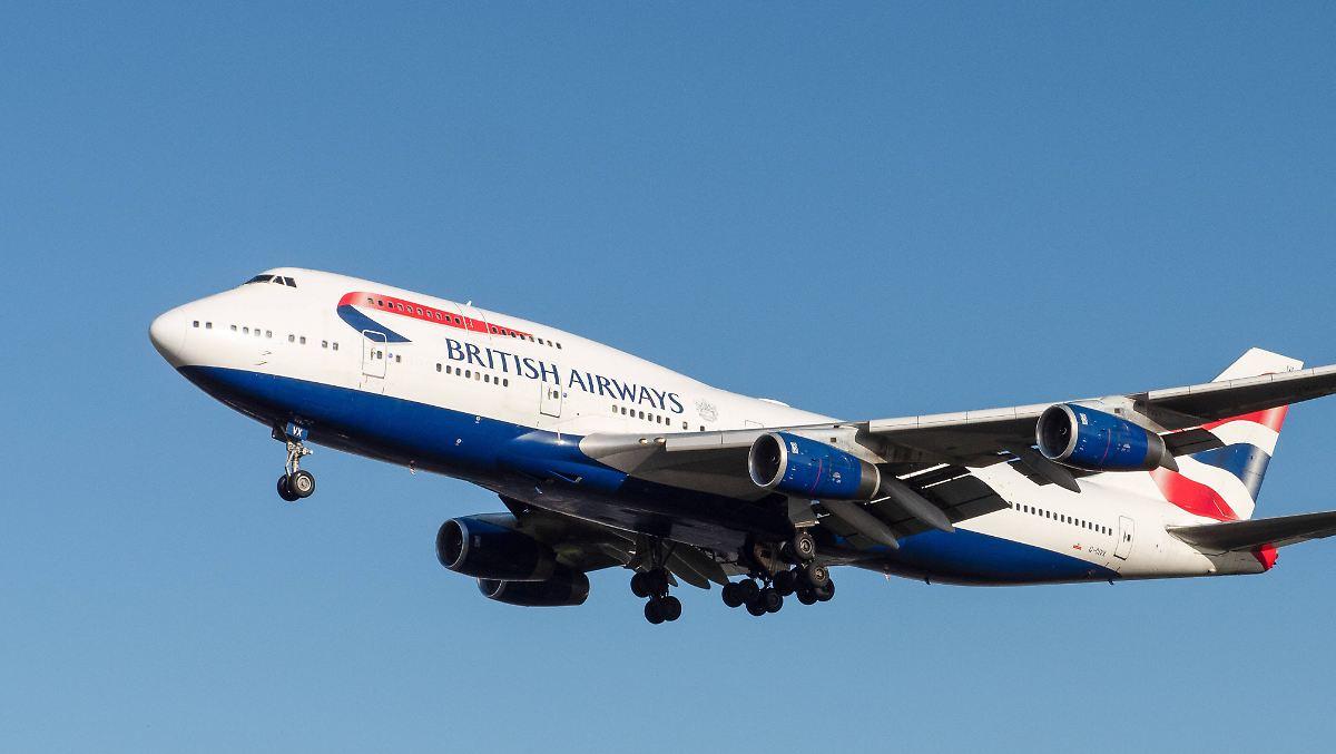 Boeing 747 fliegt in Rekordzeit über Atlantik