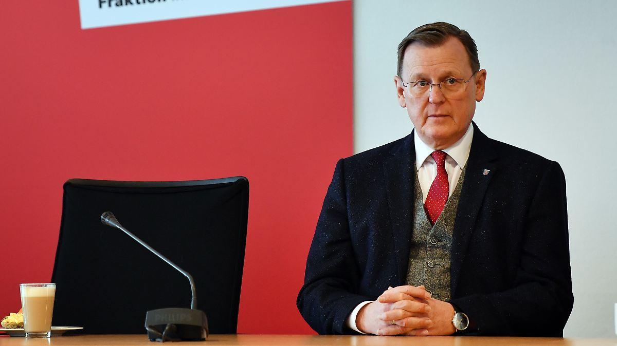 Ramelow nimmt erneutes Scheitern in Kauf