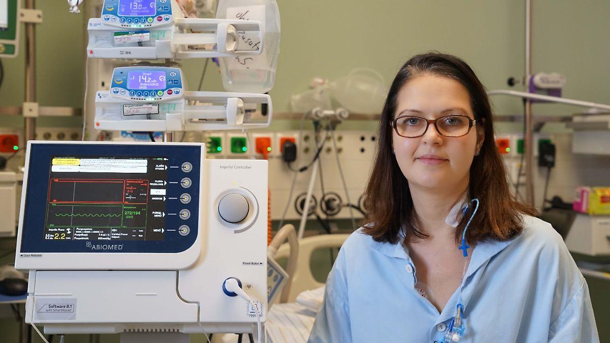 Mikropumpe rettet 37-Jähriger das Leben