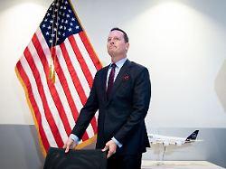 Neuer Geheimdienstkoordinator: Trump befördert US-Botschafter Grenell