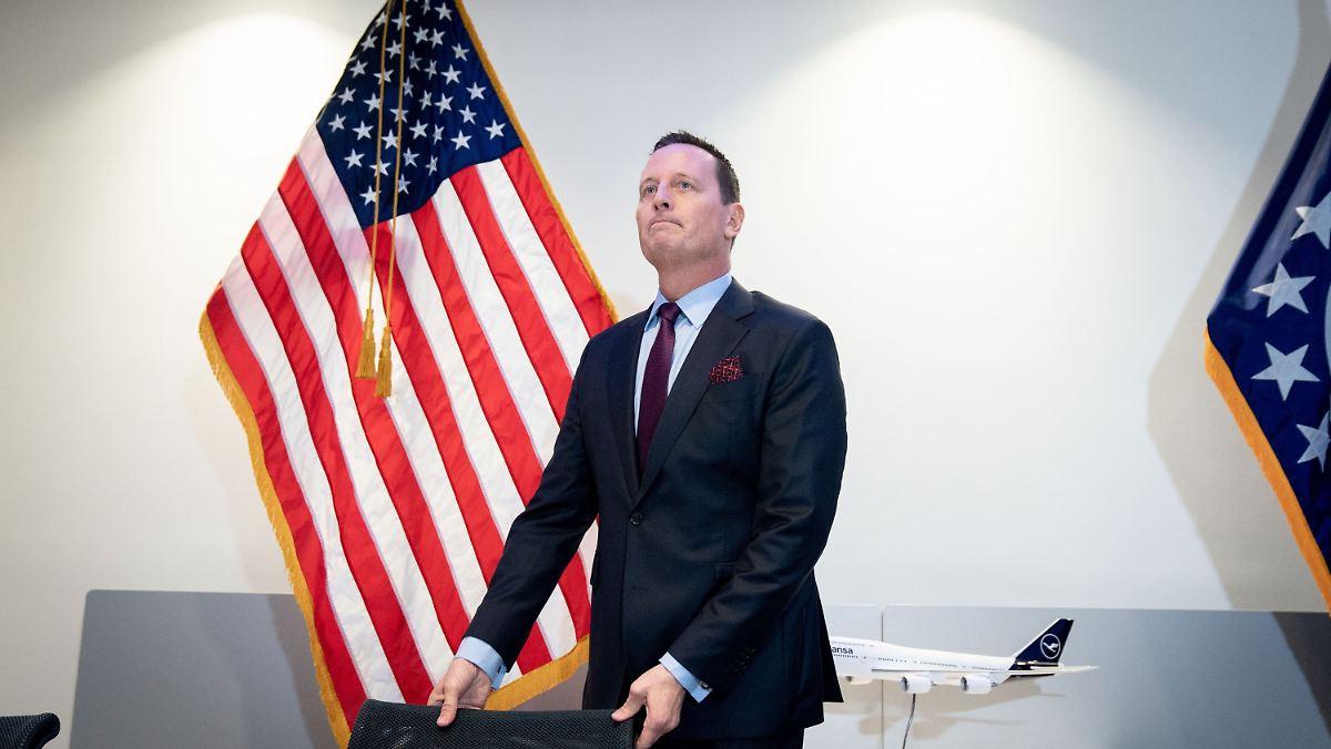 Trump befördert US-Botschafter Grenell