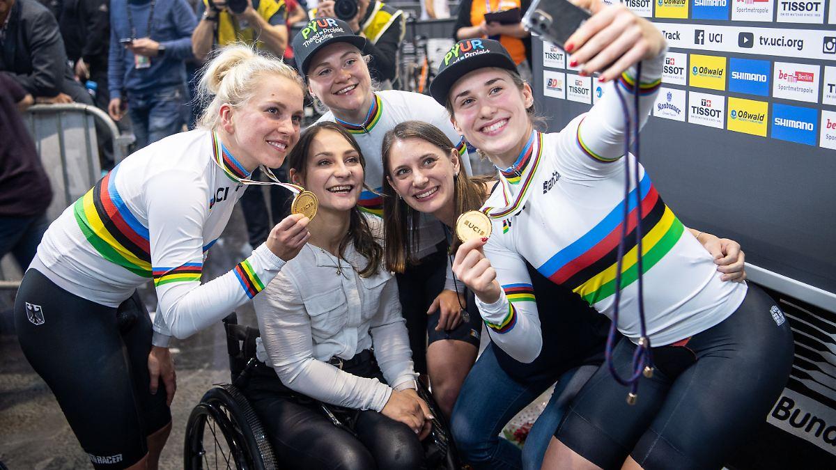 Bahnrad-Duo holt überraschend WM-Gold